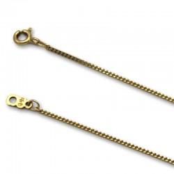 Cadena de oro barbada 1.15 mm