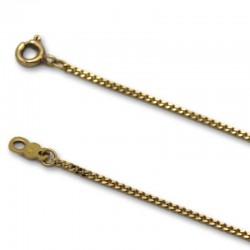 Cadena de oro barbada 1.35 mm