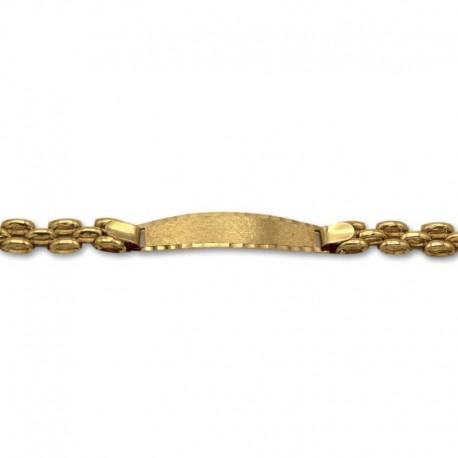 Esclava de oro con pulsera panther clásico