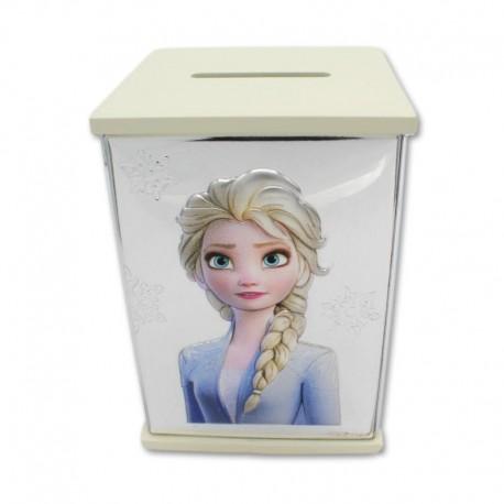 Hucha Frozen Elsa blanca