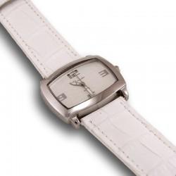 Reloj en acero y piel para mujer Thermidor