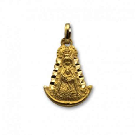 Medalla virgen del Rocio pequeña