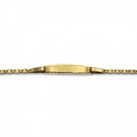 Esclava oro de diseño italiano