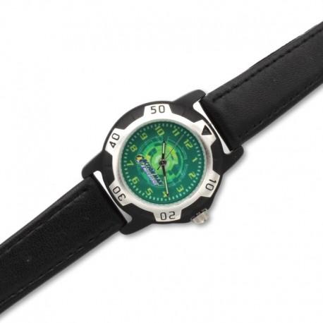 Reloj niño Action man de piel negro