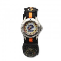Reloj niño Action man negro y naranja