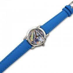 Reloj analógico niño Action Man correa de piel azul cielo