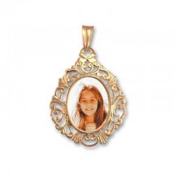 Medalla con foto personalizable