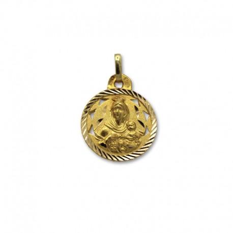 Medalla de oro escapulario