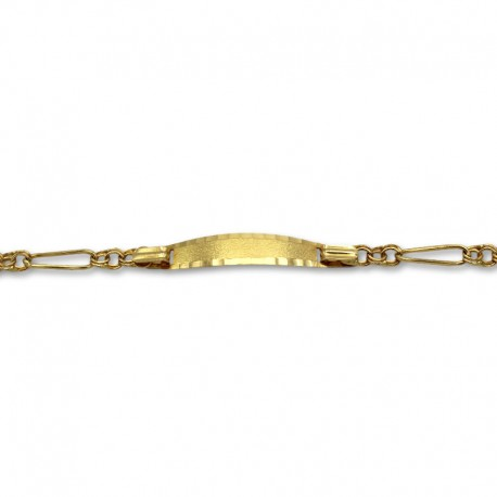 Esclava oro de diseño hungaro 3x1
