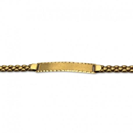 Esclava de oro con pulsera panther