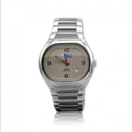 Reloj de acero para caballero NBA